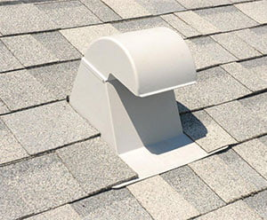 Vent-white-roof